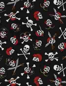 Pirates - Black Skull&Crossbones