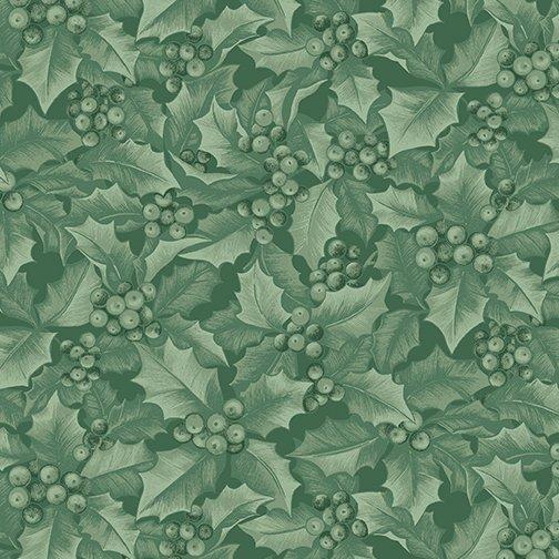 Winter Elegance - Medium Green Holly & Berries 4743-43