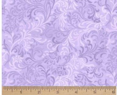 Essentials - Lilac scroll
