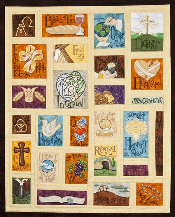 Name Above All Names Quilt CD - OESD