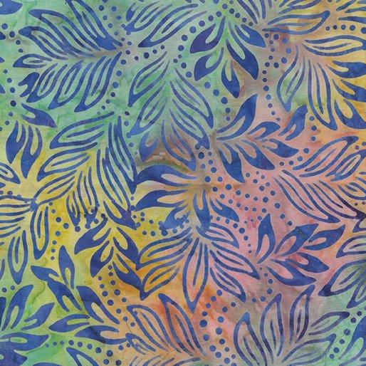 B- Lily Leaves - Pastel Multi