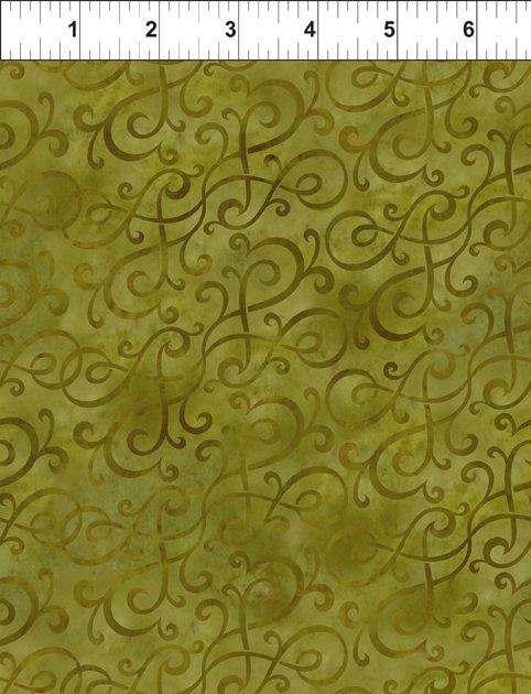 Scroll Swirl - Green