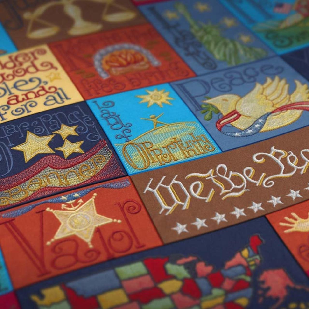 Patriotic Alphabet by Krista Hamrick - USB