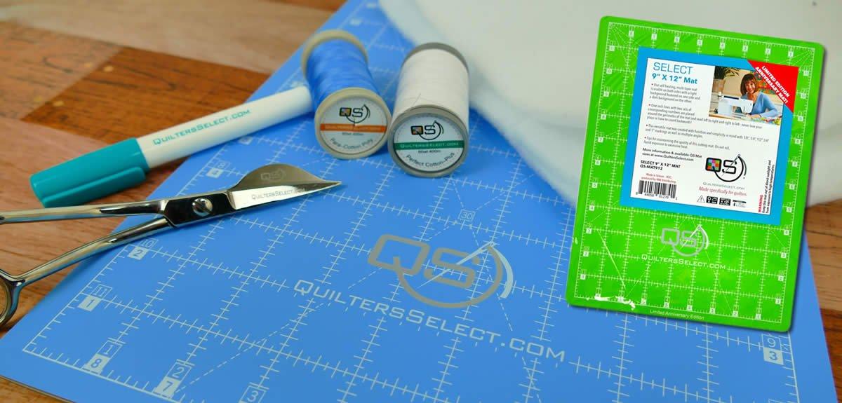 QS 9x12 Limited Edition Anniversary Cutting Mat
