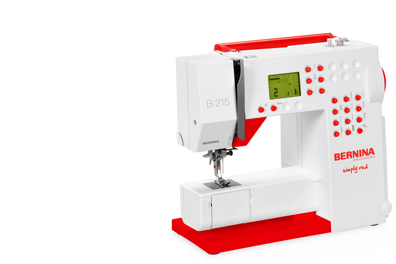 Bernina 215 - Simply Red