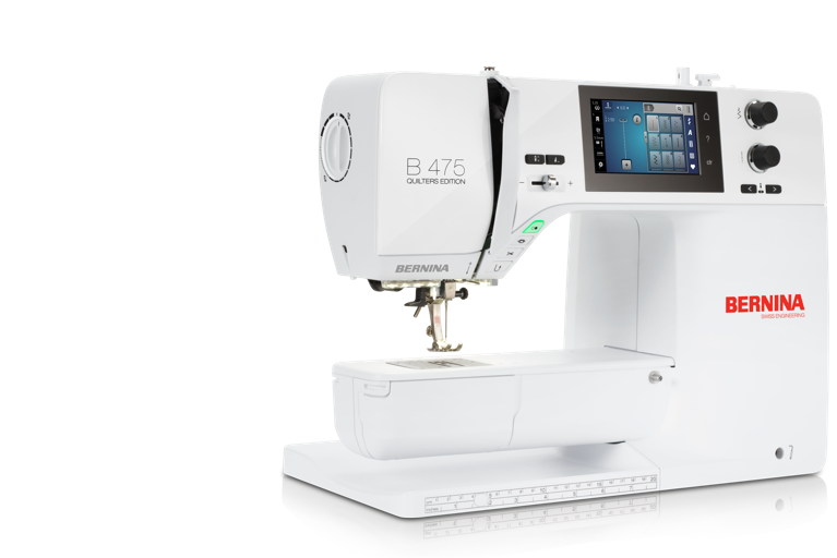 Judy Special: Bernina 475 QE Sewing Machine and Judy Cabinet by Arrow