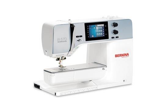 BERNINA 570 QE + Cabinet Special