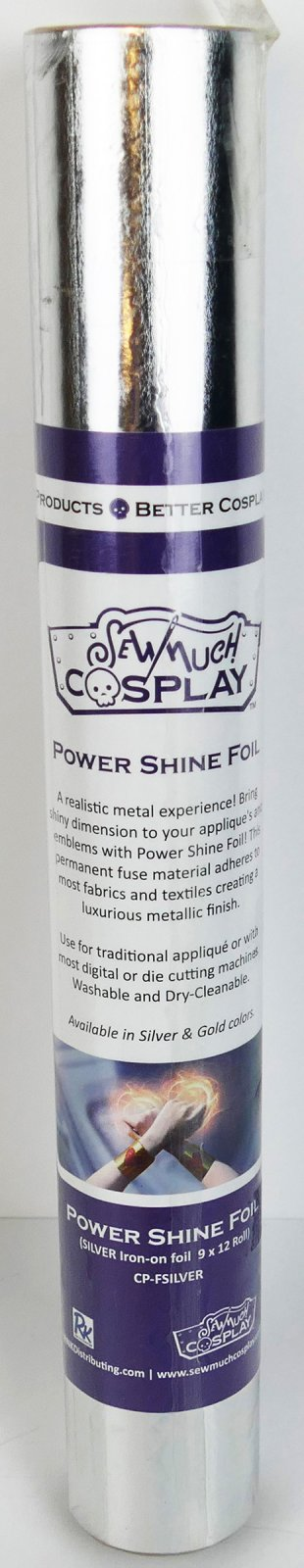Power Shine Foil - Fusible Silver