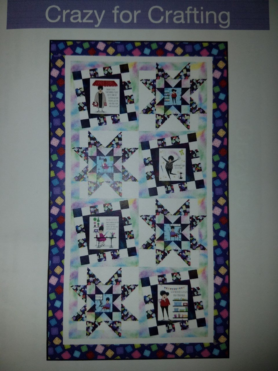 Crazy For Crafting Wallhanging Kit