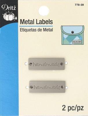 Metal Labels - Matte Nickel