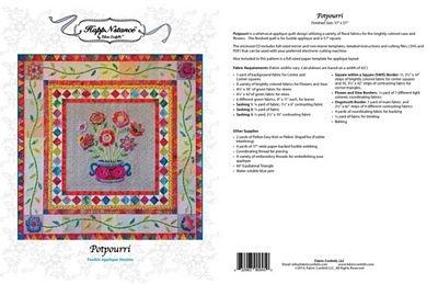 Potpourri Embroidery Machine Version on CD