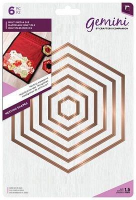 Nesting Hexagon Die Set - Gemini