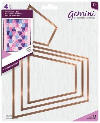 Patchwork Tumbler Die Set - Gemini