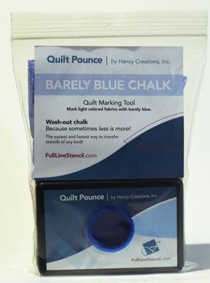 Quilt Pounce Pad - white chalk