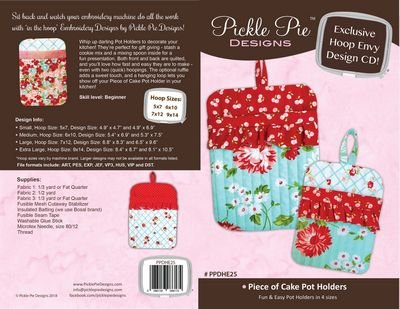 Piece of Cake Pot Holders