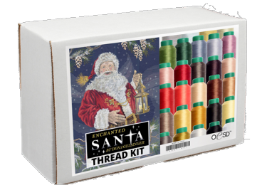 Enchanted Santa Thread Kit