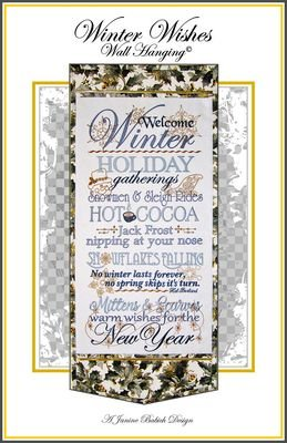 Winter Wishes Wall Hanging