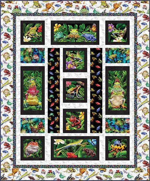 Jewels of the Jungle - Quilt #2 Kit