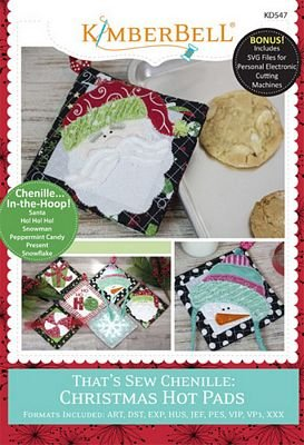 That's Sew Cheniile:  Christmas Hot Pads