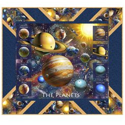 The Planets - quilt kit