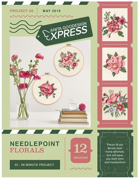 Needlepoint Florals - AG Express