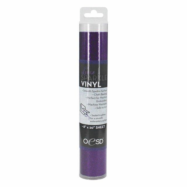 Luxe Sparkle Vinyl Purple OESD