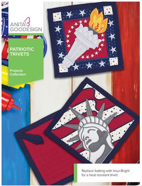 Patriotic Trivets - Anita Goodesign