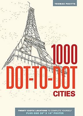 Cities 1000 dot-to-dot
