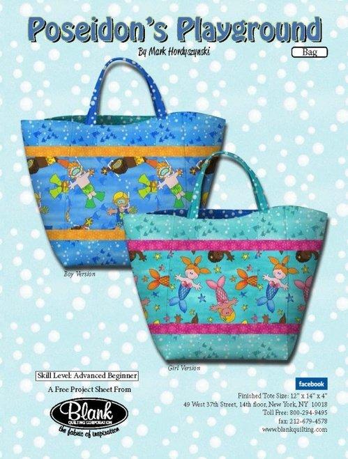 Poseidon's Playground Bag Pattern