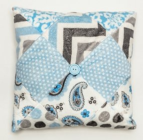 Sweet Minky Baby Blanket and Pillow