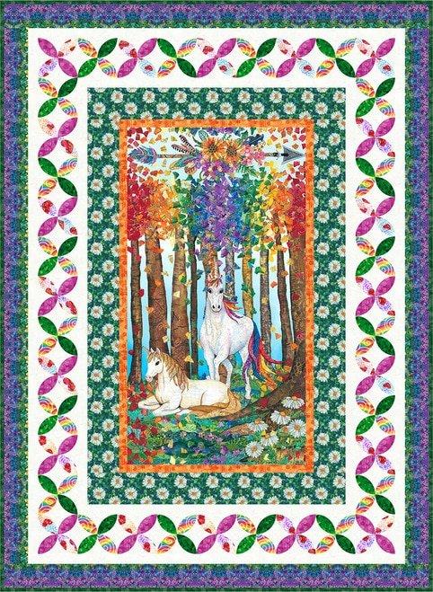 Unicorn-O-copia Quilt 1 - Kit