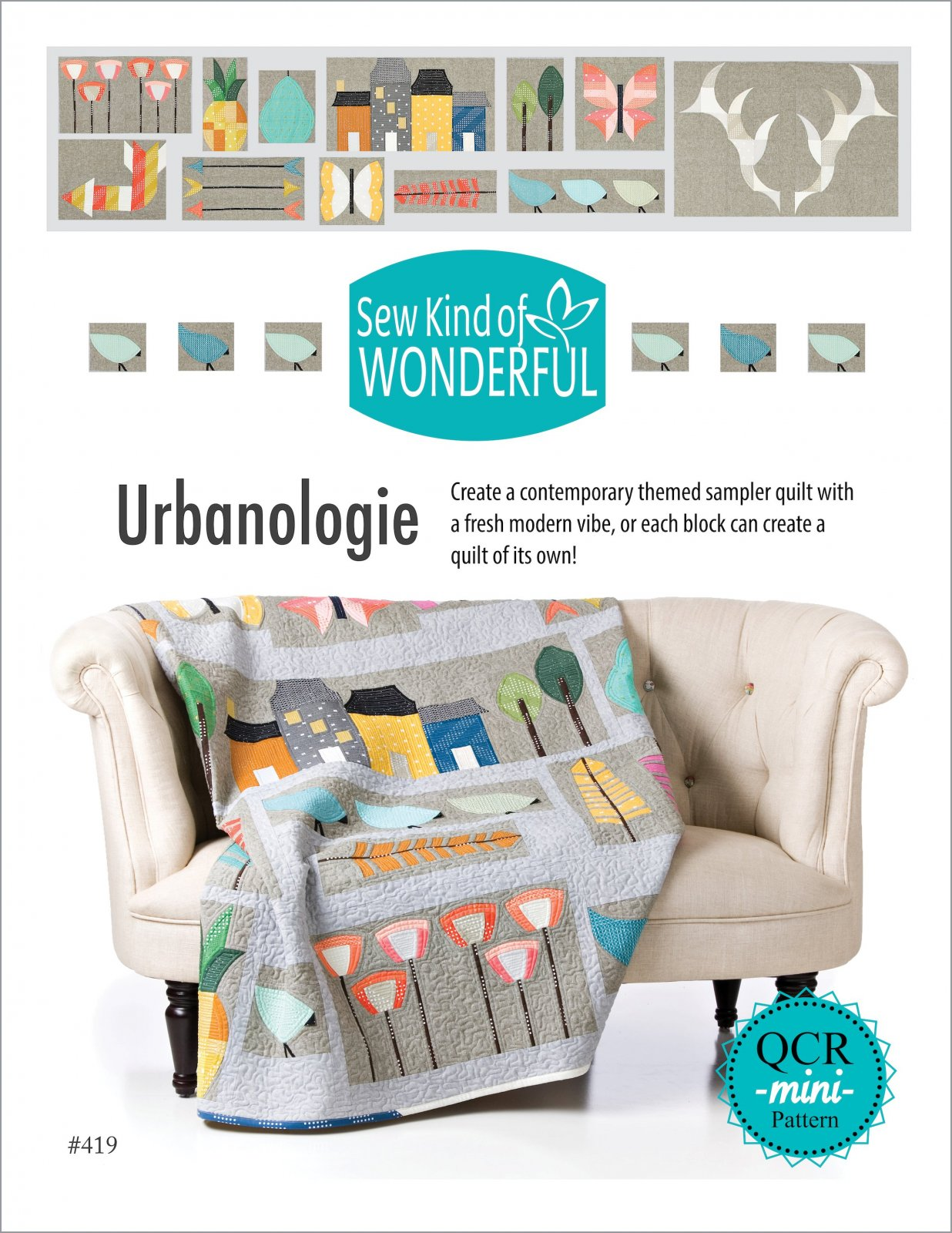 Urbanologie: Block of the Month PreOrder