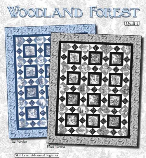 Woodland Forest Quilt Pattern
