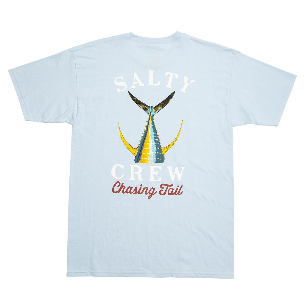 Salty Crew Tailed Short Sleeve T-Shirt in Light Blue