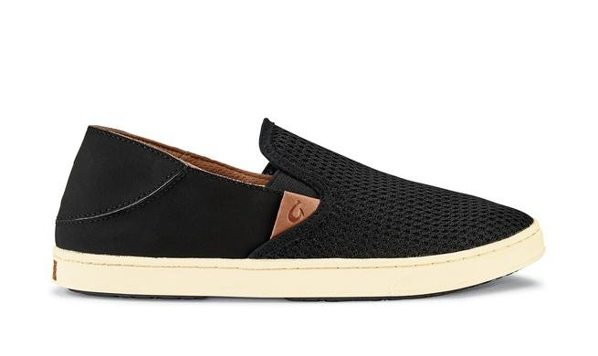 Olukai Pehuea Women's Sneakers in Black/Black
