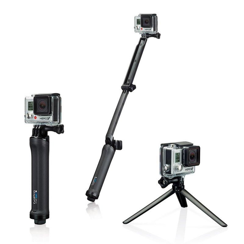 GoPro 3 way mount