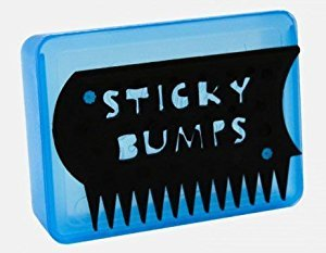 Sticky Bumps wax box w/comb