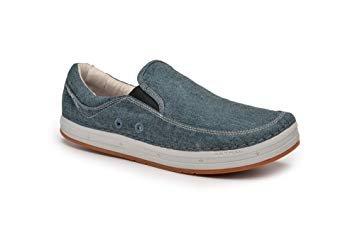 Astral Hemp Baker Unisex Shoes in Denim