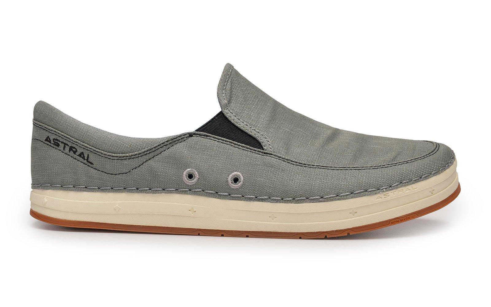 Astral Hemp Baker Unisex Shoes in Granite Gray