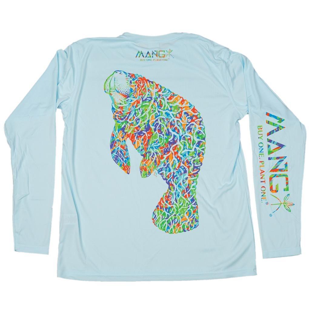 MANG Bimini Twist Mangatee L/S - Arctic Blue