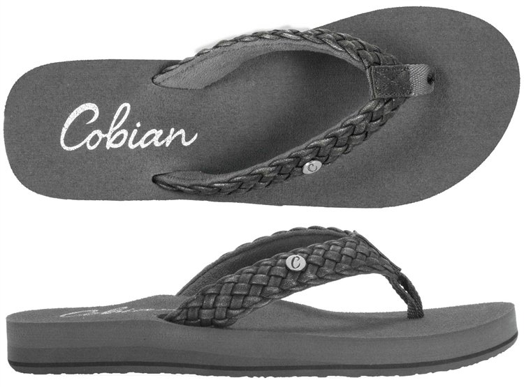 Cobian Braided Bounce Black Size 7
