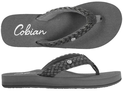 Cobian Braided Bounce Black Size 6