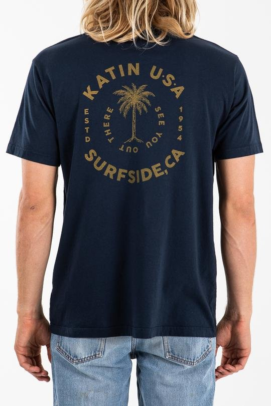 Katin Palm Tee Navy