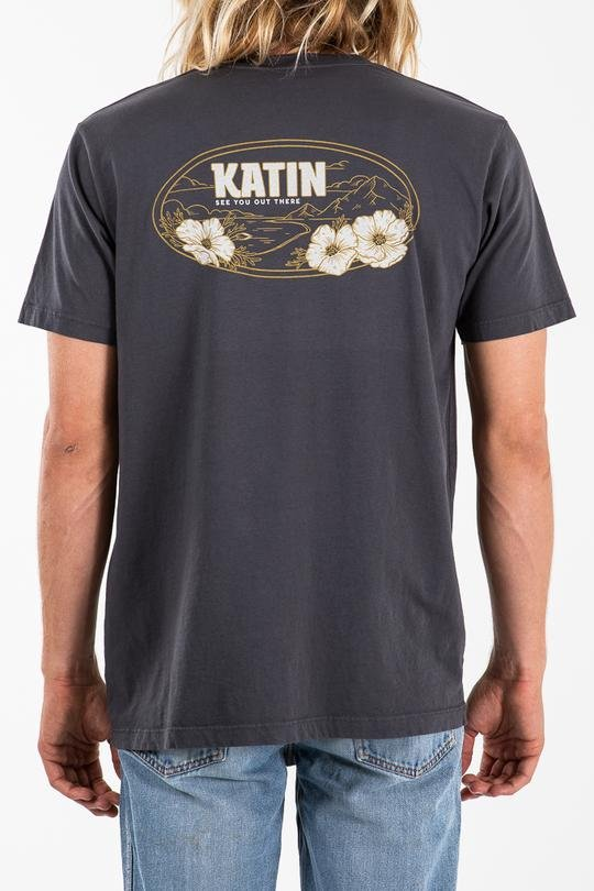 Katin Mountain Poppies Tee Black