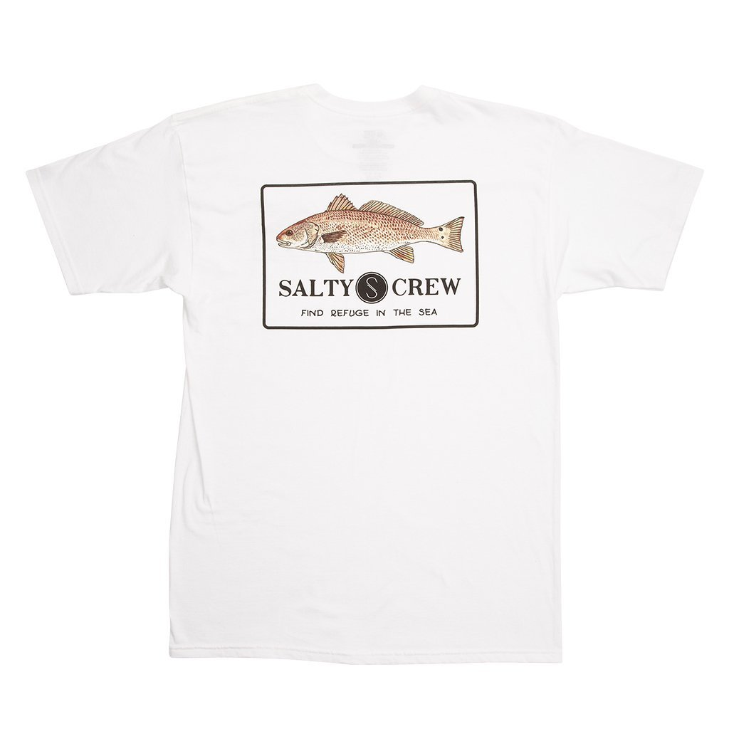 Salty Crew Spot Tail Short Sleeve T-Shirt in White