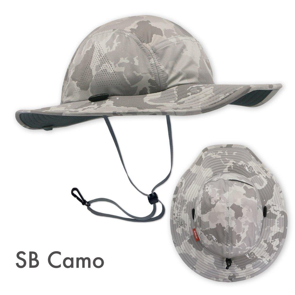 Shelta Firebird V2 Performance Sun Hat in S.B. Camo