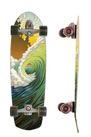 Carver C7 33.75 Greenroom Surfskate Complete