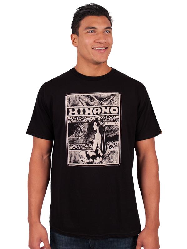 Hinano IKA T-Shirt - Black - Large