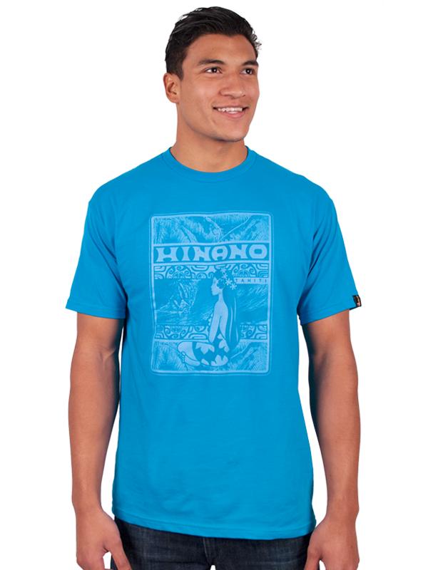 Hinano IKA T-Shirt - Turquoise Medium