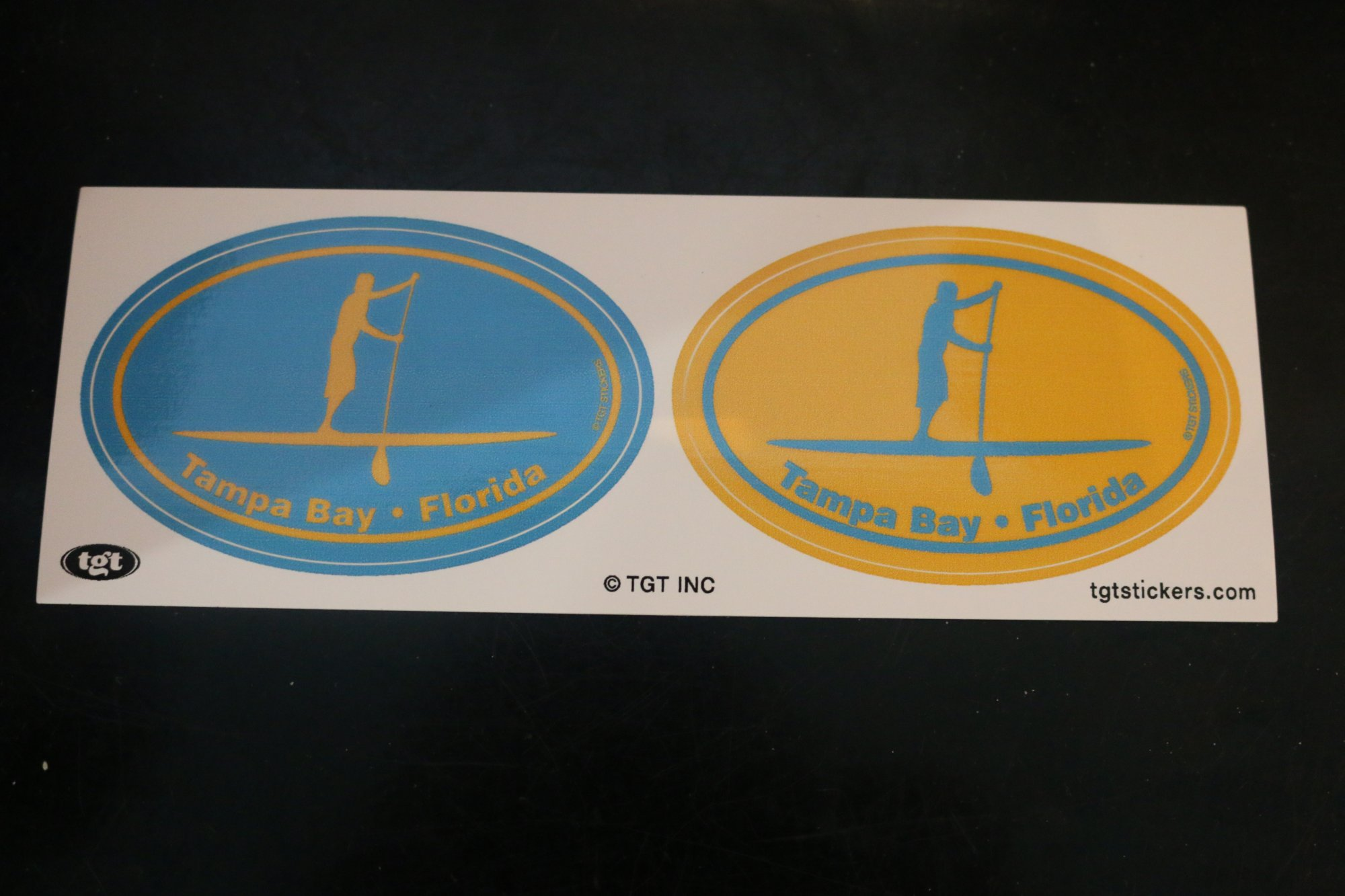 Sticker - Twin Color Oval